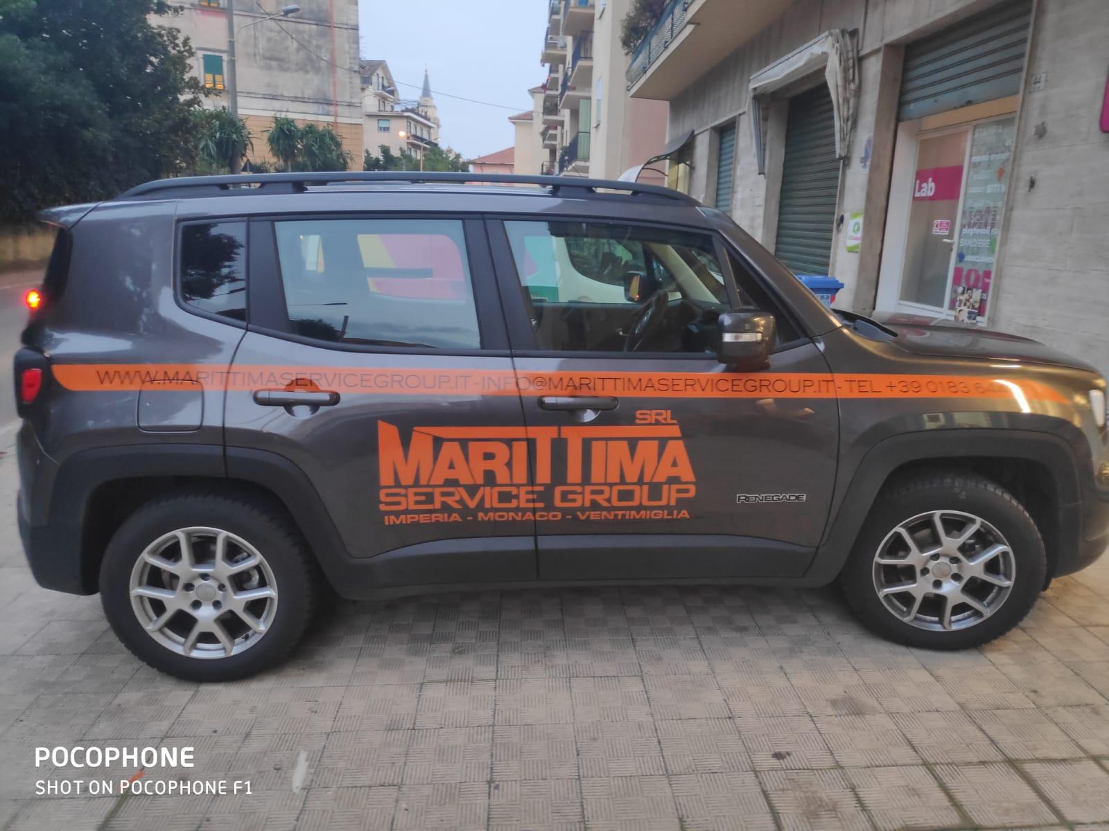 Marittima Service Group, adesivi automezzo
